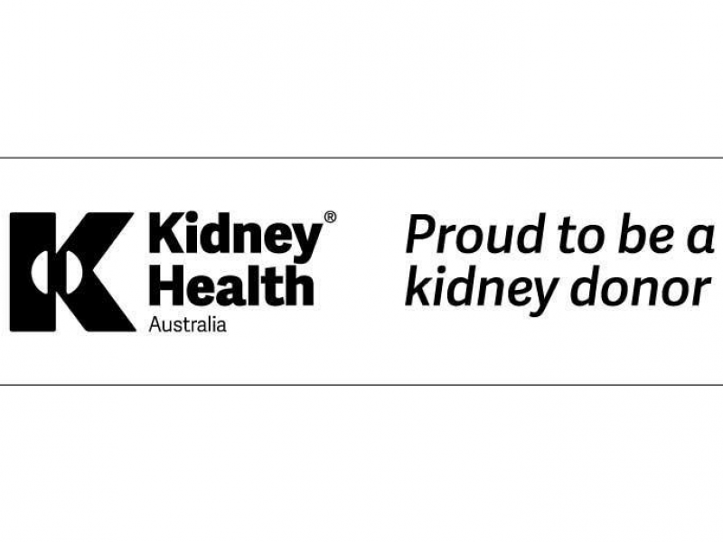 1332 proud to be a kidney donor 2x
